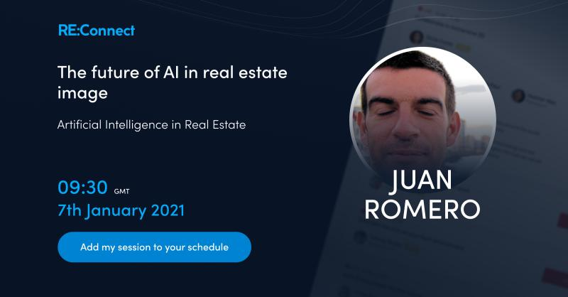 Infografía Re:CONNECT - The future of AI in real estate image.